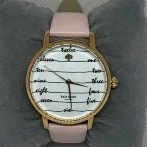 Kate Spade Women's Leather White Dial Watch E207